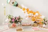 Kara's Party Ideas Champagne Brunch Bridal Shower | Kara's ...
