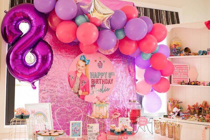 Karas Party Ideas JoJo Siwa Inspired Girly Birthday Party