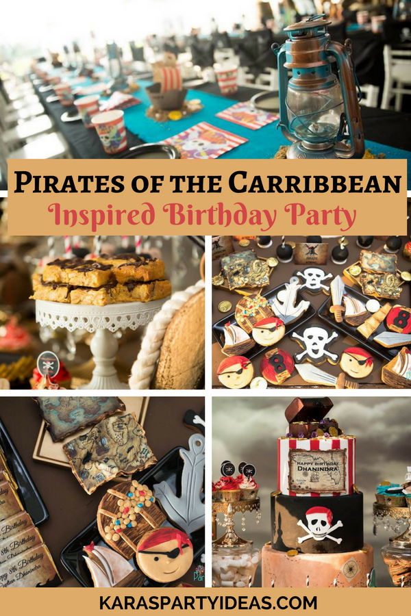 Karas Party Ideas Pirates of the Caribbean Inspired