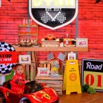Kara S Party Ideas Red Race Car Birthday Party Kara S Party Ideas