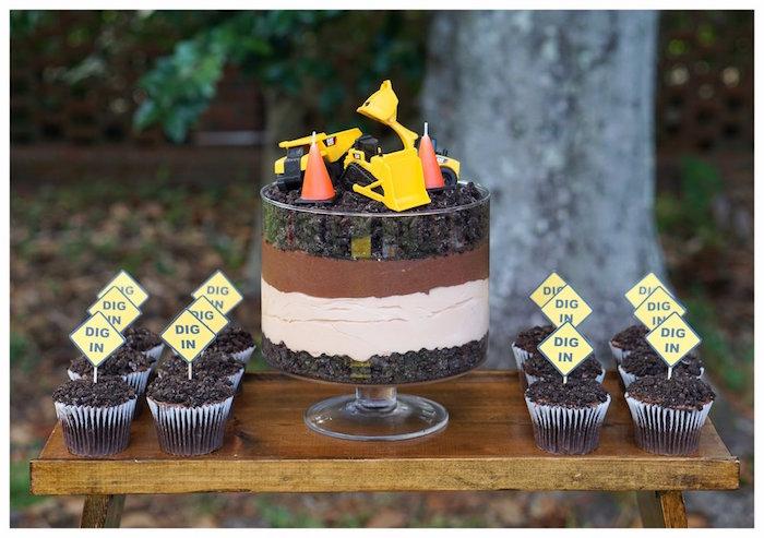 Karas Party Ideas Under Construction Birthday Party