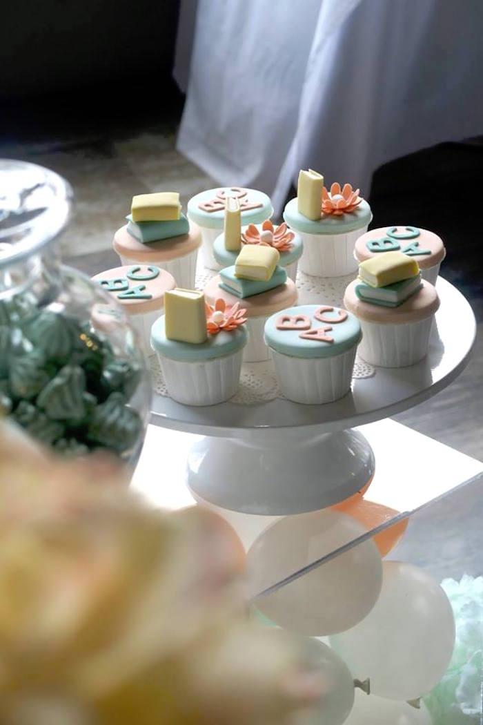 Kara S Party Ideas Pastel Book Themed 1st Birthday Party