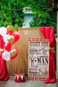 Kara's Party Ideas Vintage Circus Birthday Party inspired ...