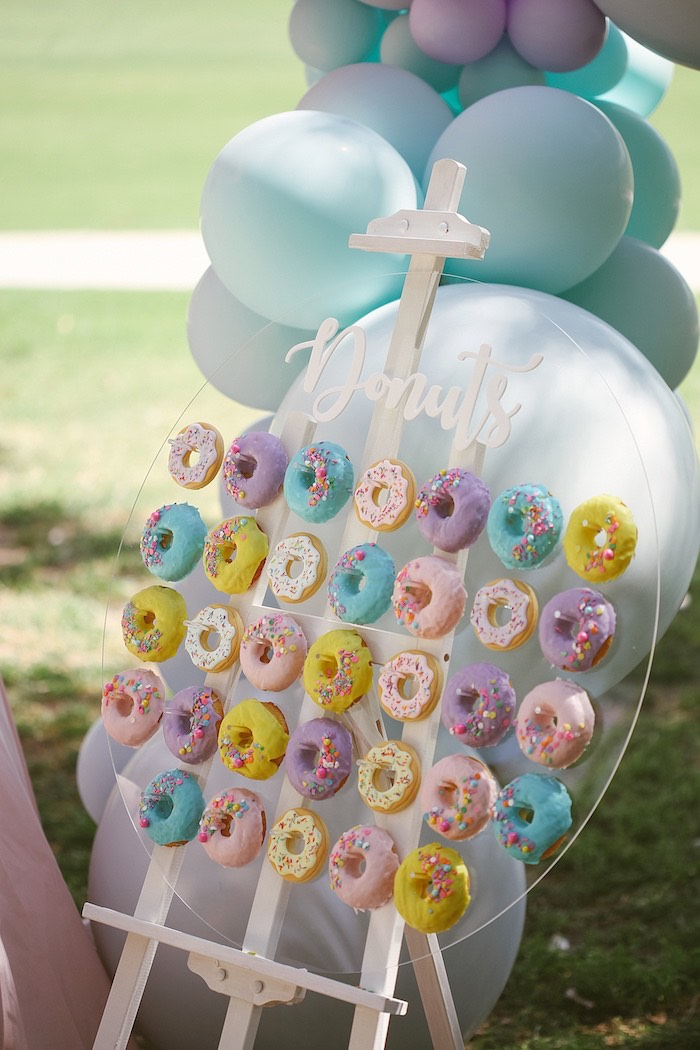 Karas Party Ideas Pastel Sweet 2nd Birthday Party  Kara