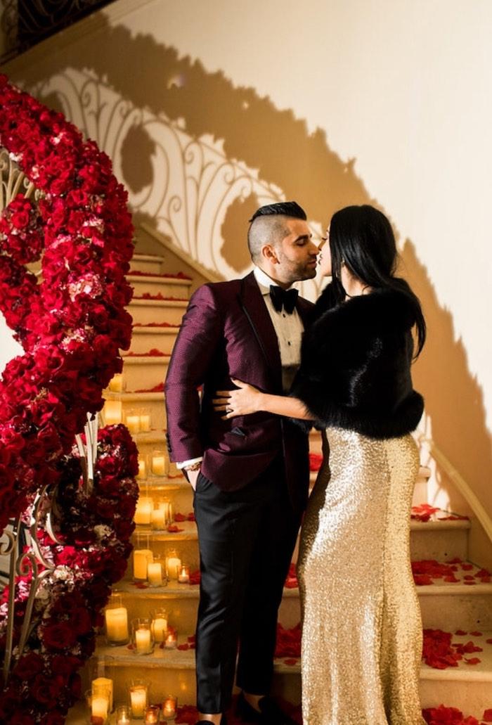 Kara's Party Ideas Romantic Marriage Proposal Surprise