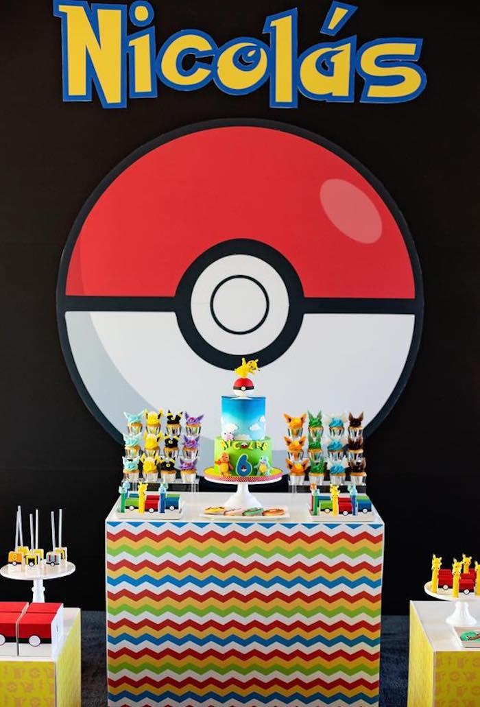 party ideas pokemon birthday party
