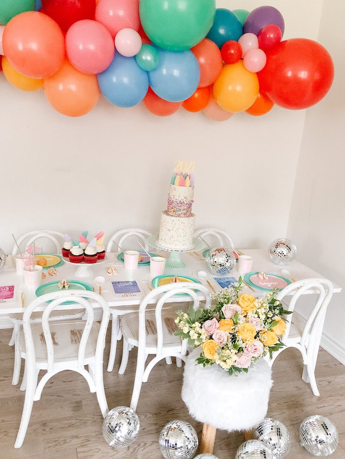 Glam Pastel New Year's Eve Party on Kara's Party Ideas | KarasPartyIdeas.com (4)