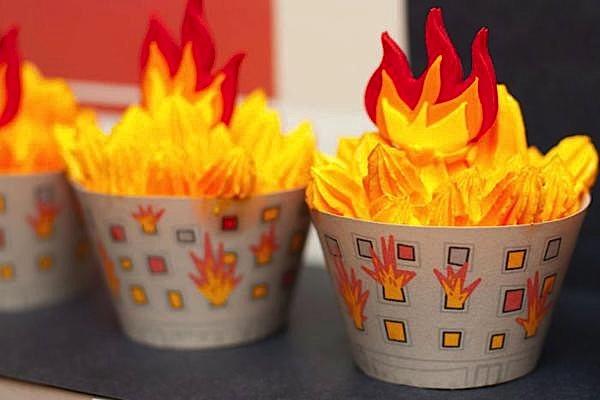 Karas Party Ideas Firetruck Fireman Fire Station