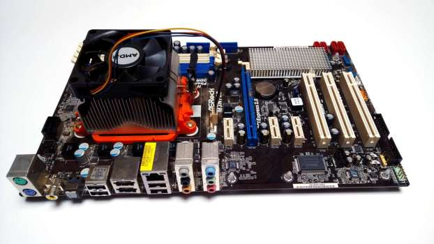 Mainboard mit Downblow Lüfter