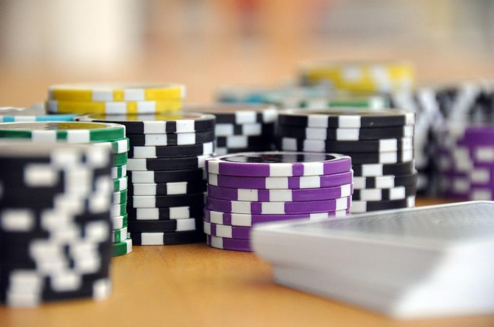 Spielen, Kartenspiel, Poker, Pokerchips, Jetons, Chips