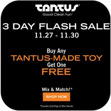 Tantus Black Friday Sale