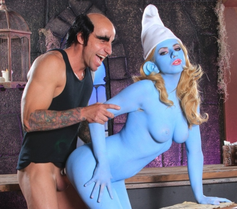 But The smurfs xxx originates from