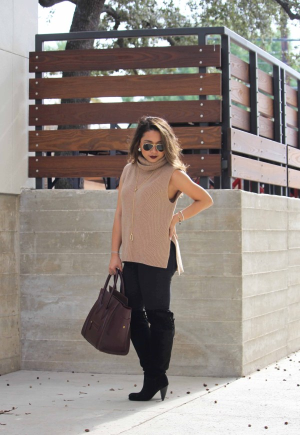 Cozy in Camel- Kara Tapangan, The Blog