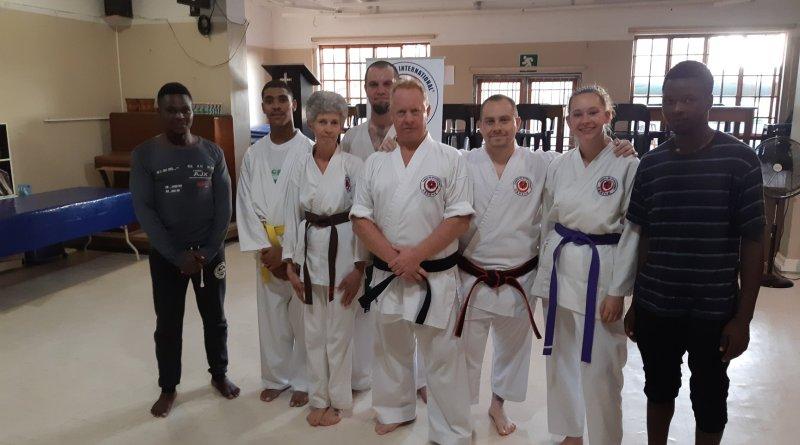 Shihan Brian visits Helderberg dojo