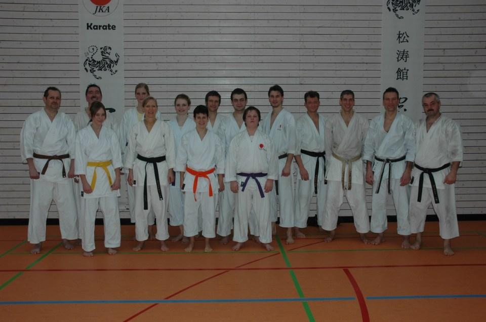 JKA – Lehrgang mit Shihan Ochi am 16.1.2010 in Ludwigsburg-Tamm