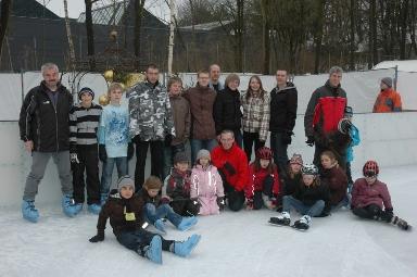 Schlittschuhlaufen 2010; Zur Großansicht bitte Bild anklicken