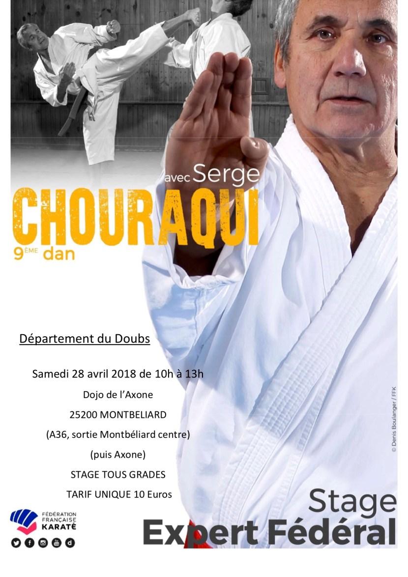 Stage Serge Chouraqui avril 2018
