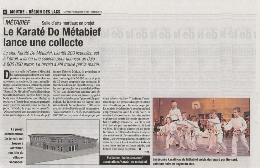 La presse pontisalienne oct 19