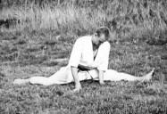 Rafał Kociemski podczas treningu. Zgrupowanie Wenecja - lipiec 1992 (3)