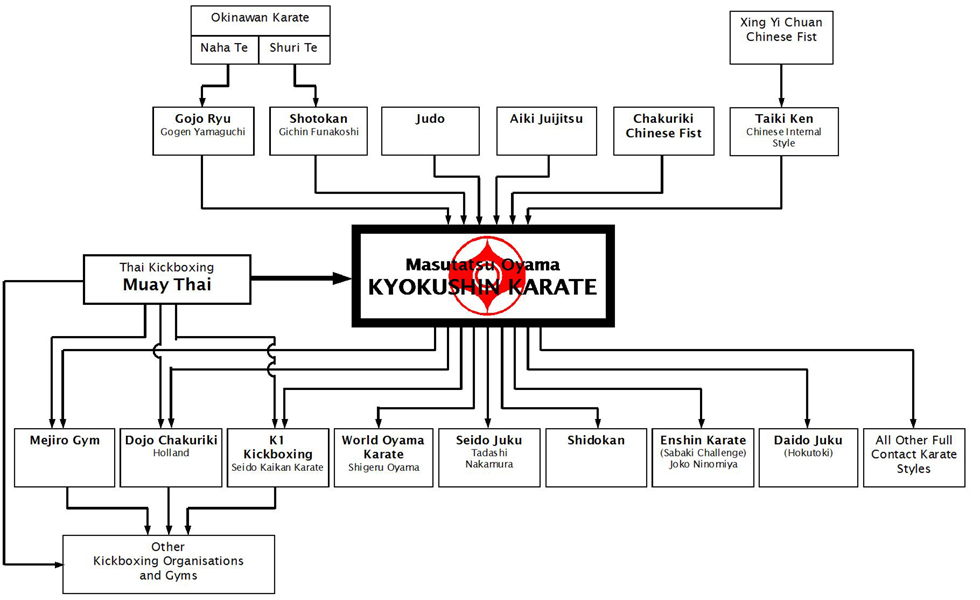 martial arts diagram electric heat thermostat wiring kyokushin karate defined thoughts lineage chart