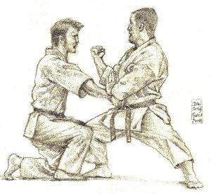dibujos karate 002+ 1