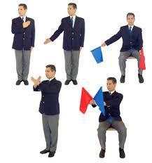 Resultado de imagen de arbitro karate imagenes