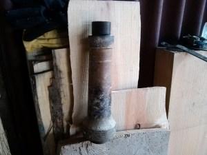 Removable wheel head shaft