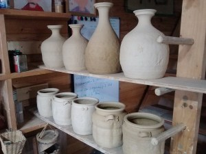 all together now... The tallest flask is about 28cm tall,dry.