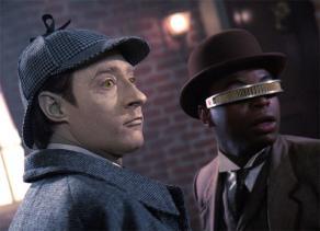 Sherlock Holmes Brent Spiner Star Trek
