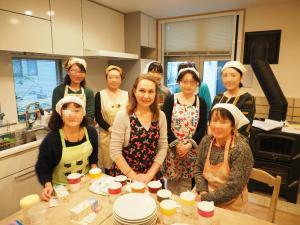 ロシア料理教室カラワイ・集合写真