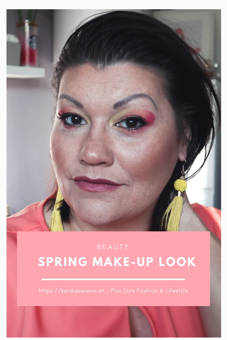 flamingo Frühlings Make-Up spring inspiration exurbe cosmetics