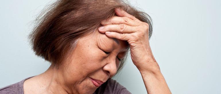 инсульт головного мозга у женщин