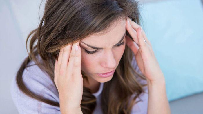 Мигрень - один из симптомов