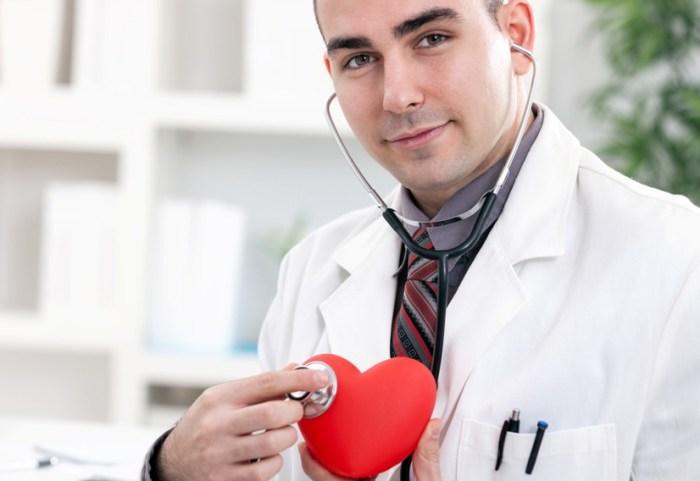 Посещение врача-кардиолога