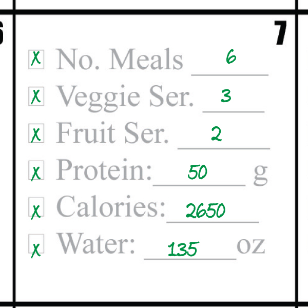 2015 Kardio-Xercise™ Eat Right. Be Healthy. Meal Calendar plus ...