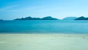 The beach at the Westin Langkawi Resort