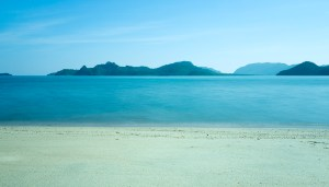 The beach at the Westin Langkawi Resort