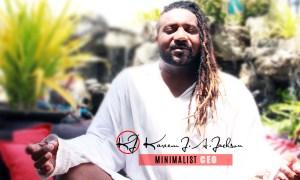 minimalist CEO kareem Jackson