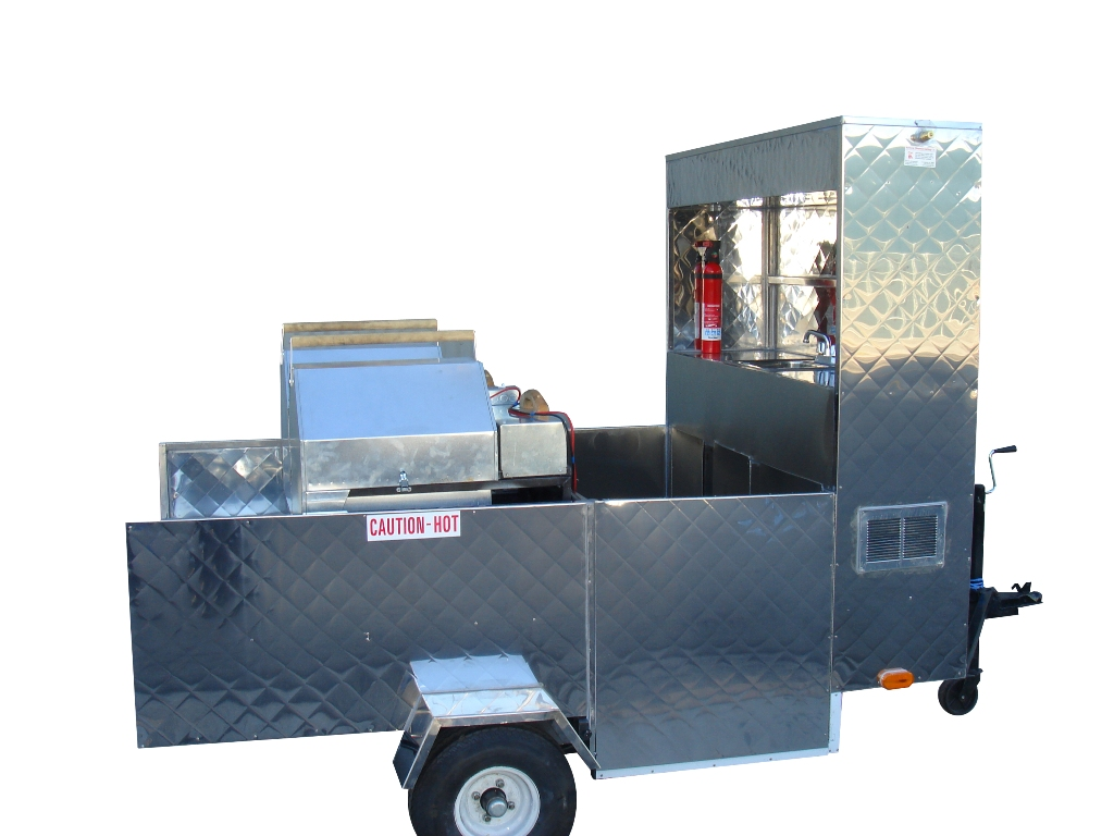 Roasted nuts cart