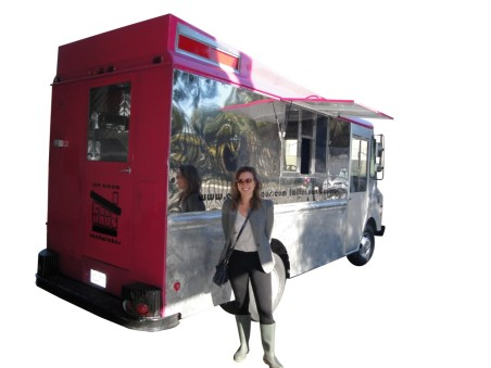The cool haus ice cream truck