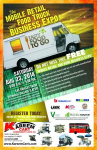 Information about the food truck expo 2014