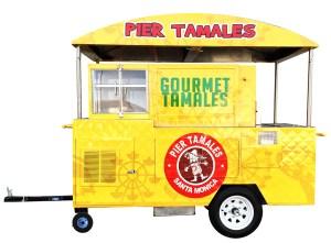 Tamales Trailer Cart