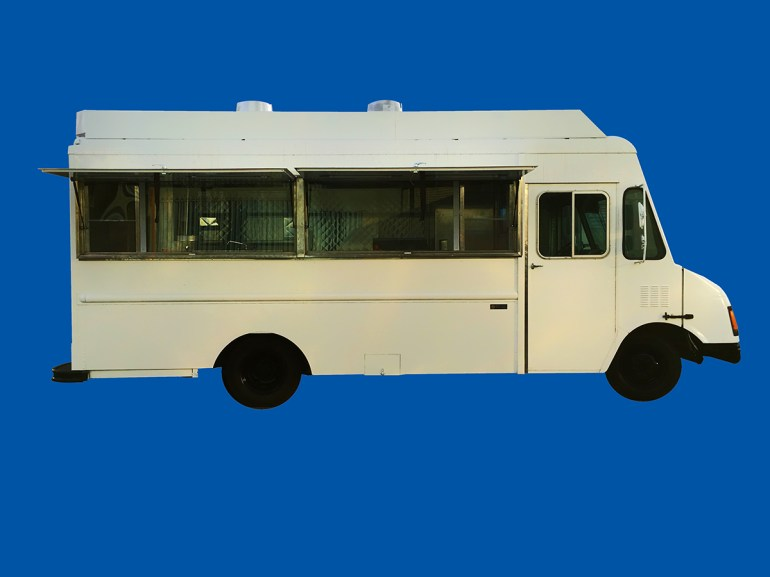 White Custom Truck (21)