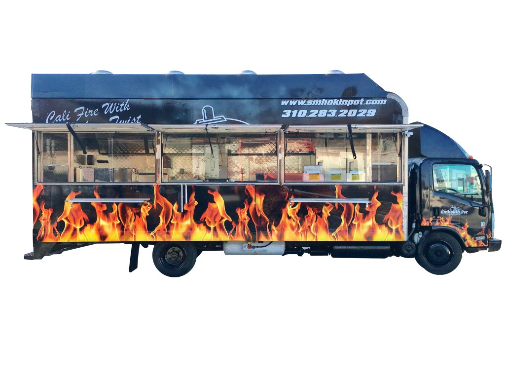 extra large food truck
