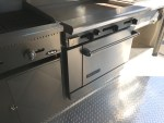 Oven for a food truck for rent