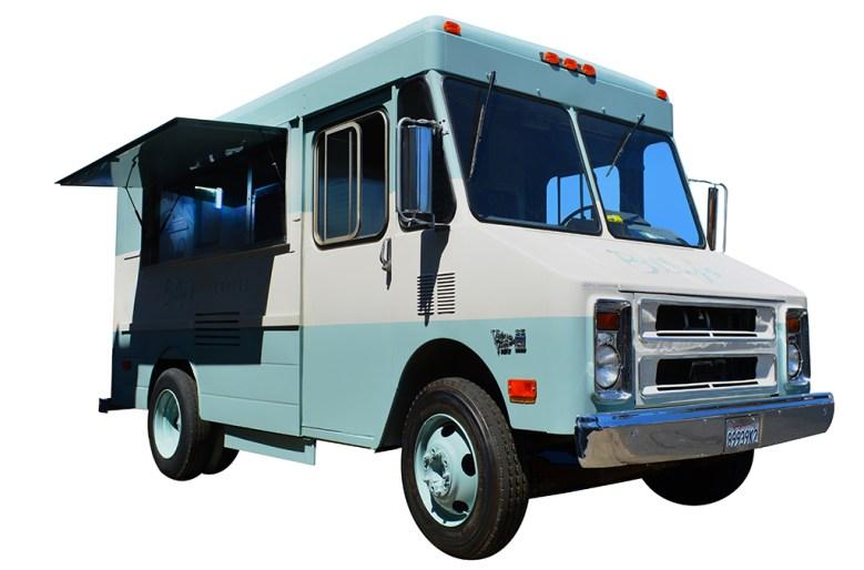 Coffee Food Truck open window