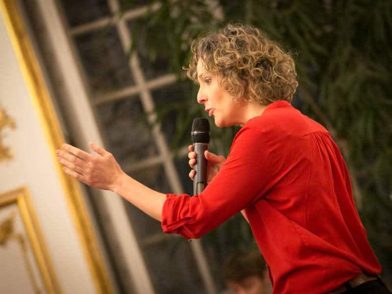 Karen chataigner, humoriste, Soirée Liebenzeller