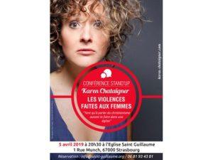 Conférence stand'up : les violences faites aux femmes @ Église Saint Guillaume (Strasbourg) | Strasbourg | Grand Est | France