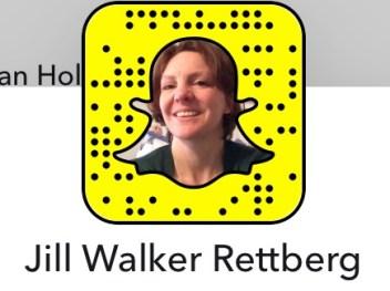SnapChat: Jill Walker Rettberg