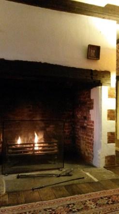 Fireplace, Peake's House, Colchester, Landmark Trust